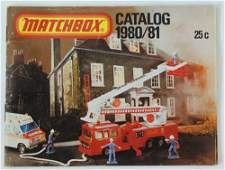 Vintage 1980/81 MATCHBOX LESNEY Collector's Toy Dealer
