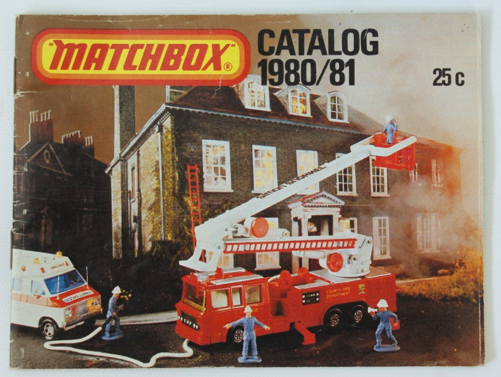Vintage 1980/81 MATCHBOX LESNEY Collector's Toy Dealer