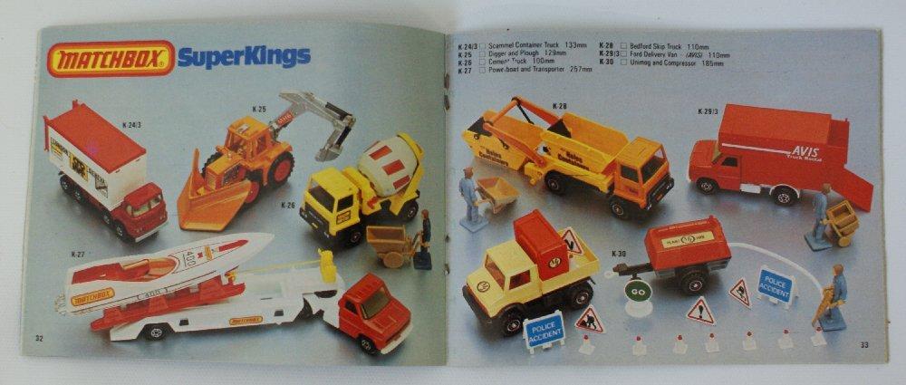 Vintage 1980/81 MATCHBOX LESNEY Collector's Toy Dealer - 2