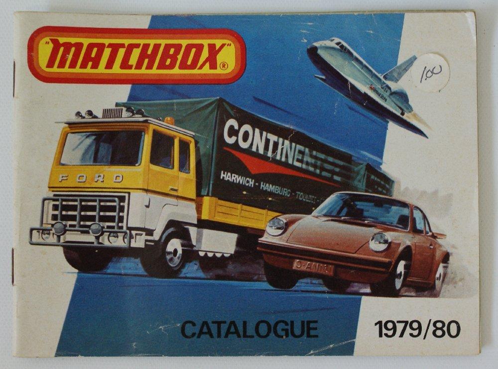 Vintage 1979/80 MATCHBOX LESNEY Collector's Toy Dealer