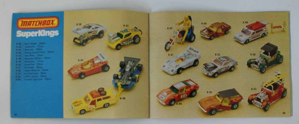 Vintage 1979/80 MATCHBOX LESNEY Collector's Toy Dealer - 2