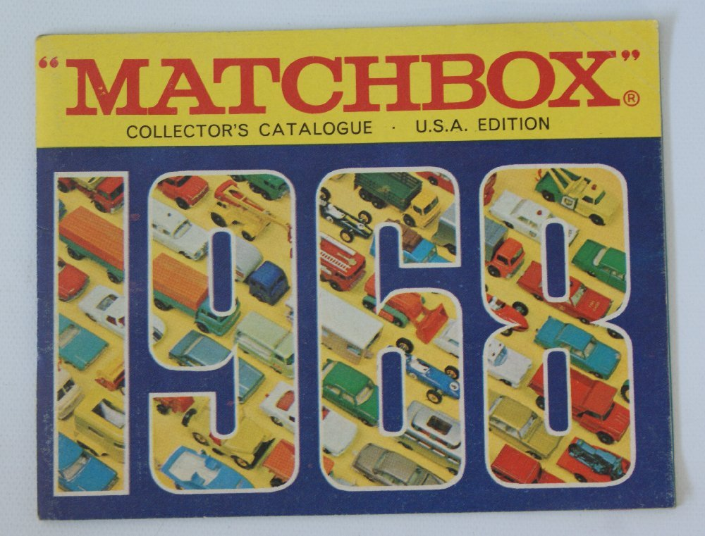 Vintage 1968 MATCHBOX LESNEY Collector's Toy Dealer