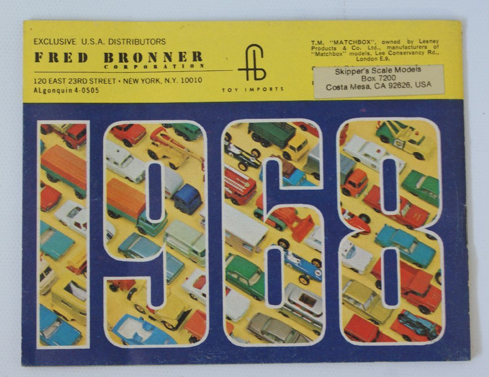 Vintage 1968 MATCHBOX LESNEY Collector's Toy Dealer - 2
