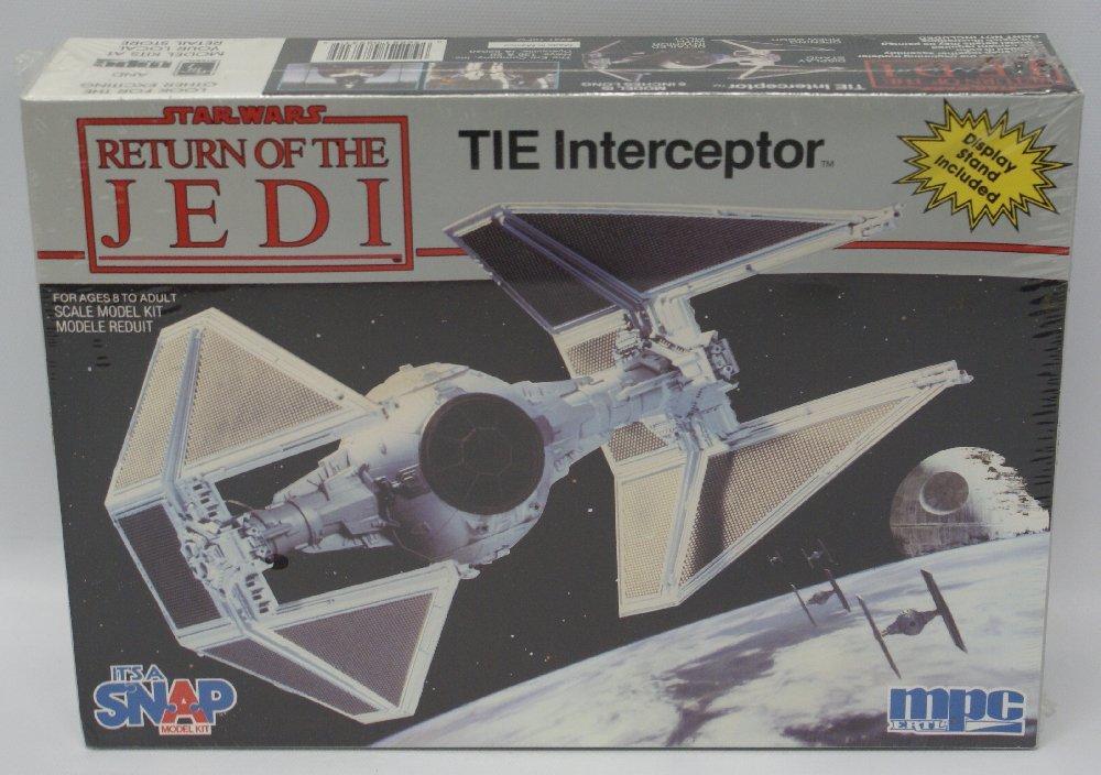 1983 MPC #1-1972 STAR WARS Return of the Jedi TIE