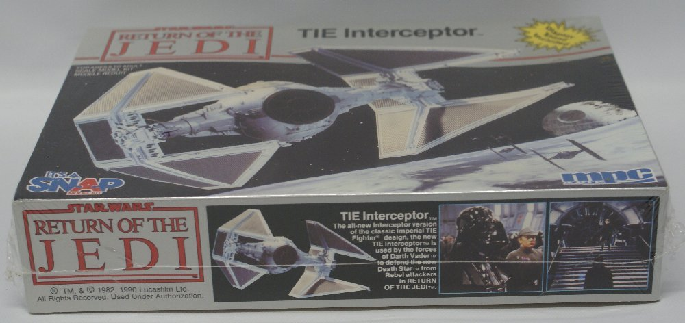 1983 MPC #1-1972 STAR WARS Return of the Jedi TIE - 2