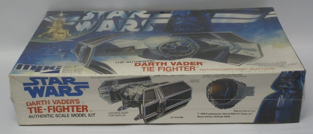 1978 MPC #1-1915 Original STAR WARS Darth Vader TIE - 2