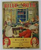 1952 BILLY AND RUTH Miller's 48-Page Children's