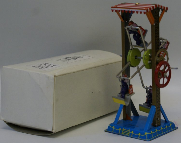 Style Tin Windup Crank FERRIS WHEEL #MM086, in Box