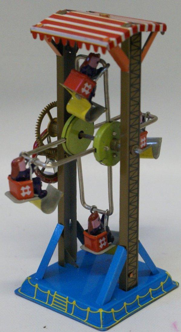 Style Tin Windup Crank FERRIS WHEEL #MM086, in Box - 2