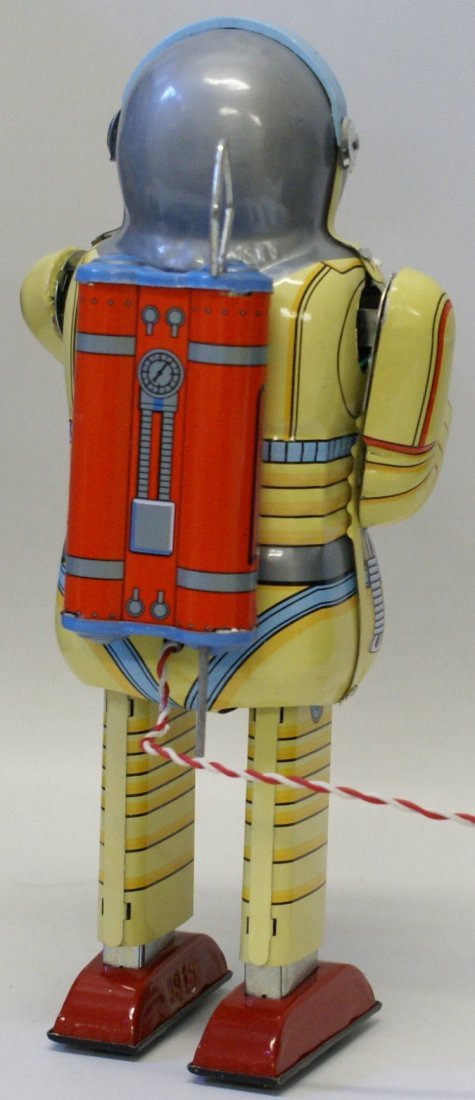 SCHYLLING Tin SPACE MAN Robot, in Box w/ Numbered - 3