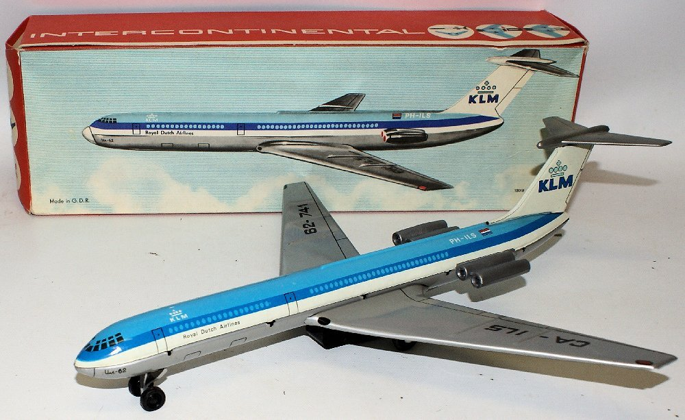 Tin Friction KLM Royal Dutch Airlines Intercontinental