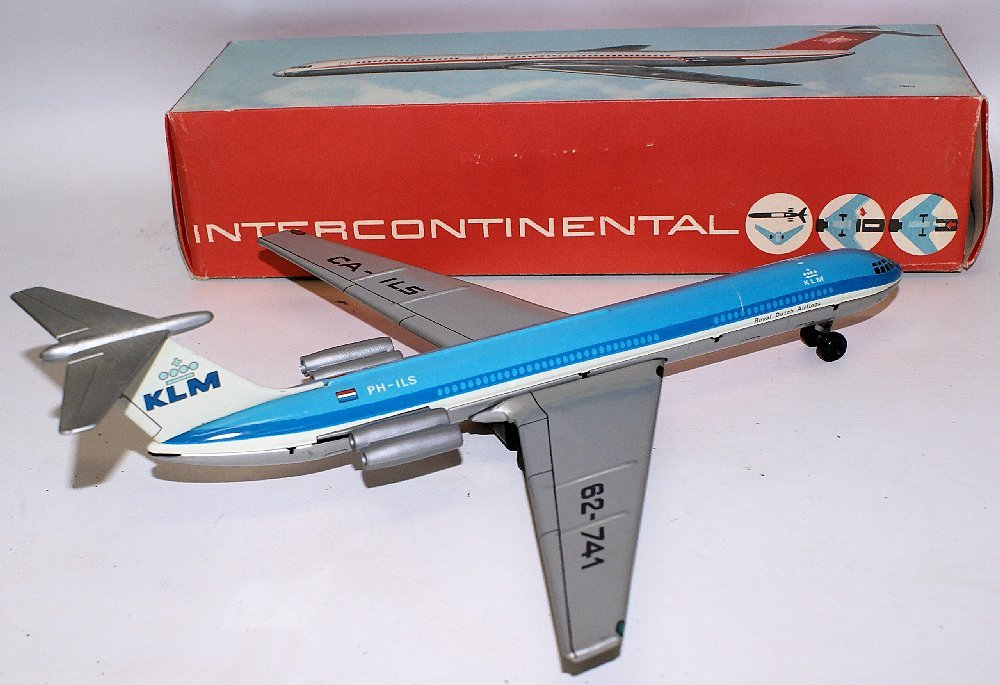 Tin Friction KLM Royal Dutch Airlines Intercontinental - 2