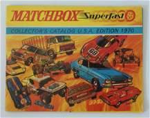 1970 MATCHBOX LESNEY Diecast Collectors Toy Catalog