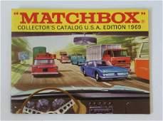 1969 MATCHBOX LESNEY Collectors Toy Catalog Booklet