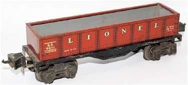 Vintage PreWar O Gauge Tin LIONEL IVES Transition 2677