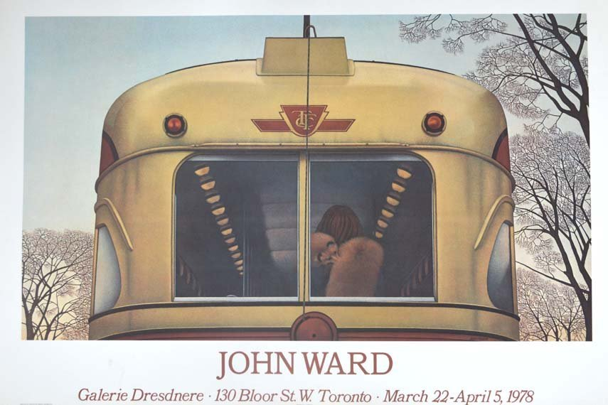 JOHN WARD POSTER