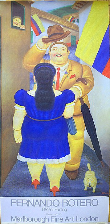 Fernando Botero, Colombian (1932 - ) RECENT PAINTING19