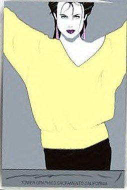 "NAGEL COMMEMORATIVE ORIGINAL SERIGRAPH # 8,""yellow sw"