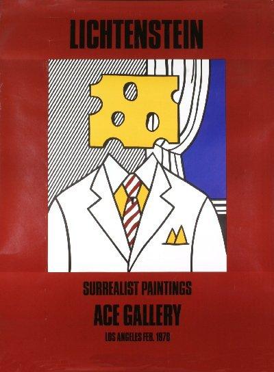 """: Lichtenstein, Roy """"chesse head"""" 1978"""