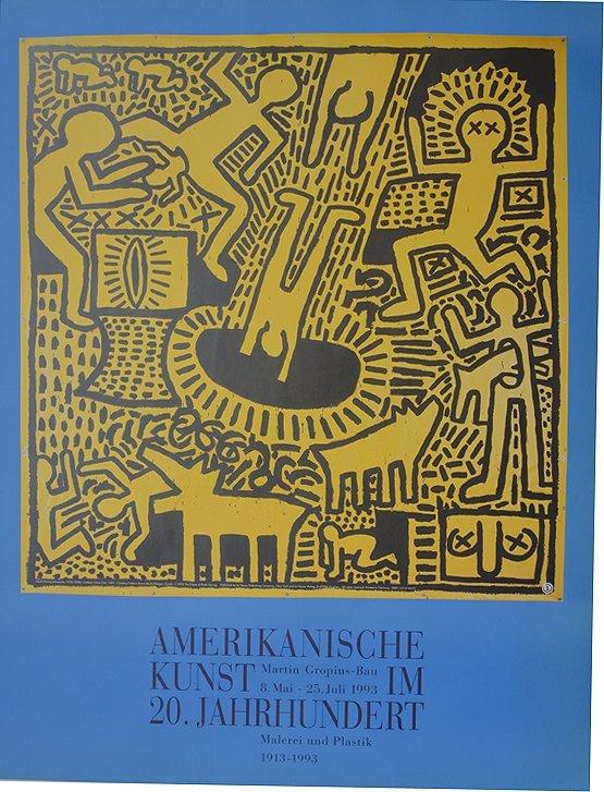 keath haring kunst amerikanische 1993