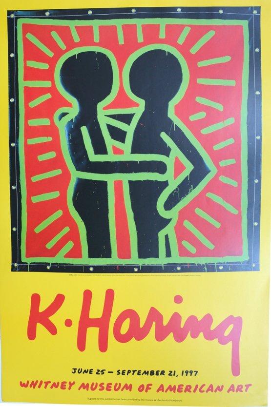 keath haring whtney museum 1977 very rare