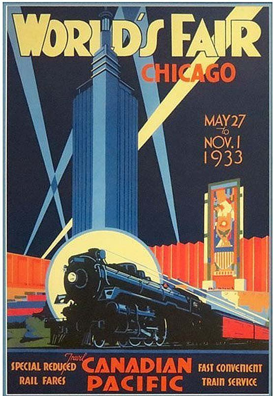 NORMAN FRASER WORLD'S FAIR CHICAGO MAY 2 to NOV.1 1933