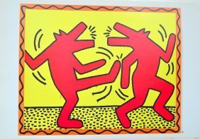 keath haring dance rare