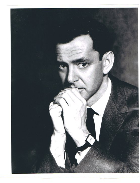 TONY RANDALL- 8 x 10 BUST PHOTO W/ CERTIFICATE