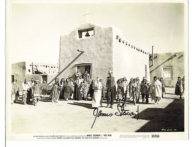 JAMES STEWART - 8 x 10 PHOTO W/ CERTIFICATE #2