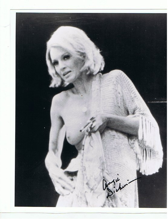 Angie Dickinson Sexy 8 X 10 Photo W Certificate