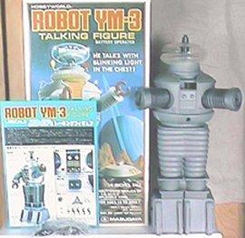 """VINTAGE 15"""" LOST IN SPACE  MASUDAYA  YM-3 ROBOT MIB - 3"""