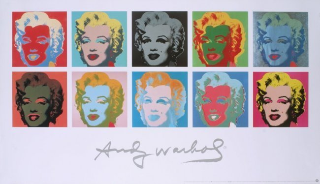 "Warhol, Andy Marilyn Monroe""Marilyn 1967""10 images,big"