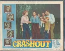 """""""CRASHHOUT"""" (1954) MOVIE LOBBY CARD 11 X 14"""