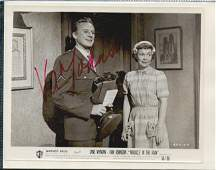 VAN JOHNSON SIGNED 10 X 8 PHOTOGRAPH. HERE IS AN 10 X