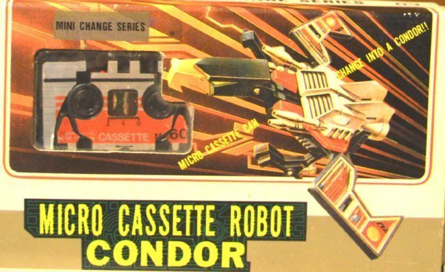 MICRO CASSETTE ROBOT CONDOR MINI CHANGE SERIES (CR)