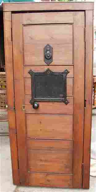 Early Jail Cell Door