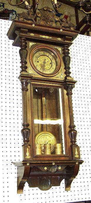 Long Case Vienna Regulator Clock