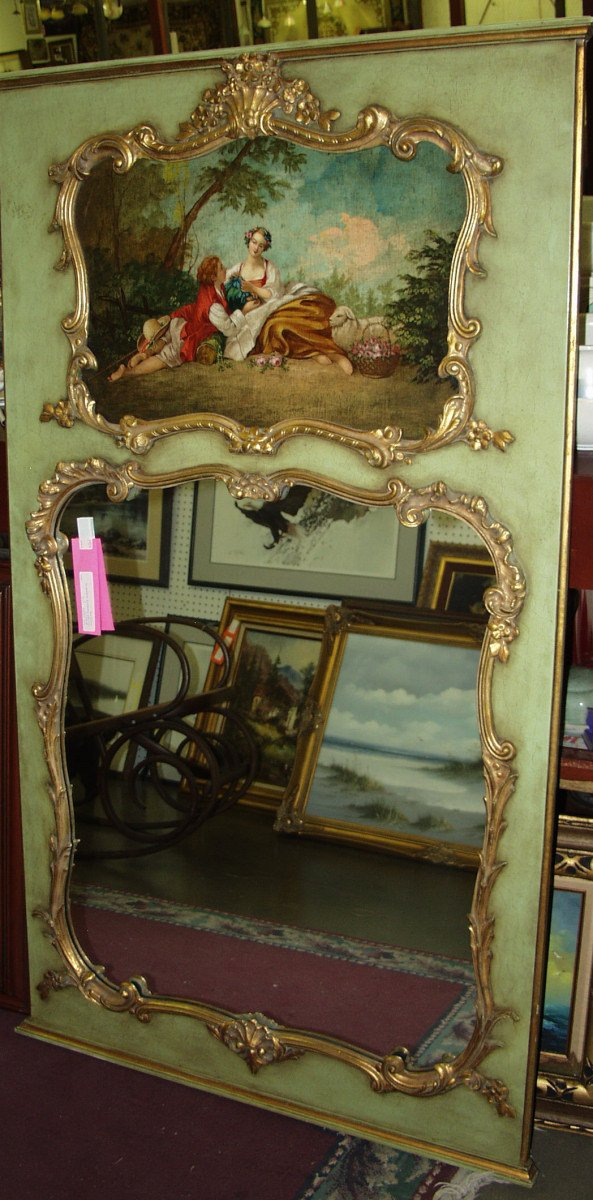 15: Over Mantle Mirror