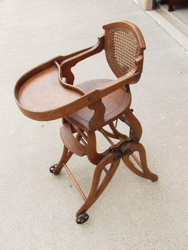 22: Bentwood High Chair