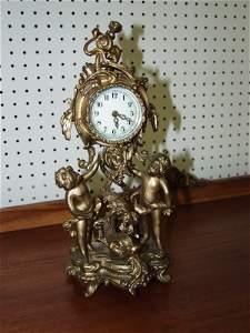 32: Brass Clock