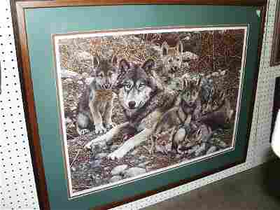 1015: Print Of Wolves