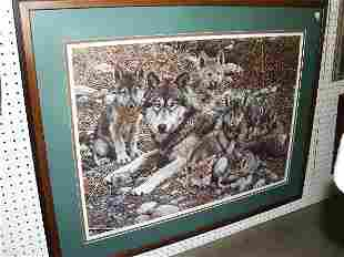 Print Of Wolves