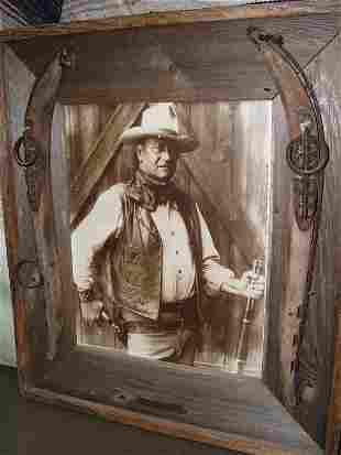 John Wayne Print