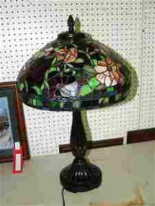 1024: Leaded Glass Lamp