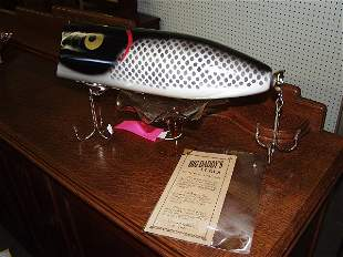 Giant Wooden Fishing Lure