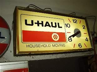 U-haul Clock