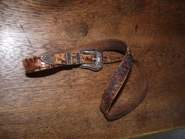 1120: Hollands Sterling Silver Buckle