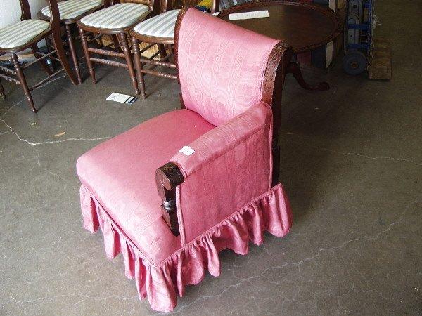 1124: Victorian Bustle Chair - 2