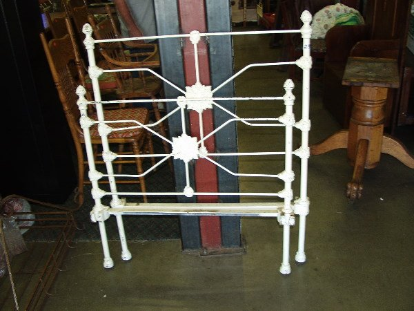 23: Iron Bed