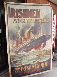 71: Irishmen Avenge The Luis Tania Poster